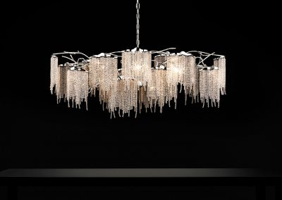 Victoria Chandelier Oval